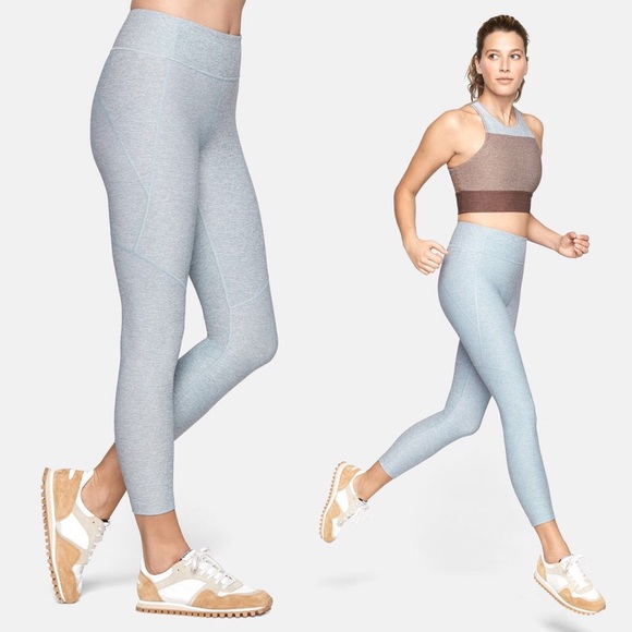 Outdoor Voices Yoga Pants Leggings Small Active Athleisure Favorite Ocean Blue Women's Clothing Activewear Bottoms